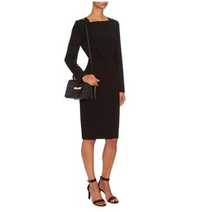 NWT MaxMara Alben wool sheath dress long sleeve